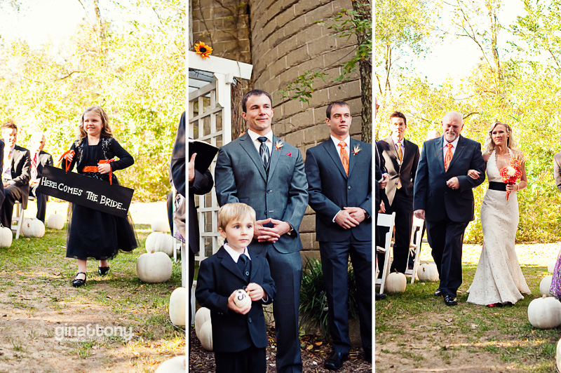 chicago wedding photographers, southwest michigan wedding photographers, blue dress barn wedding, pumpkin themed wedding