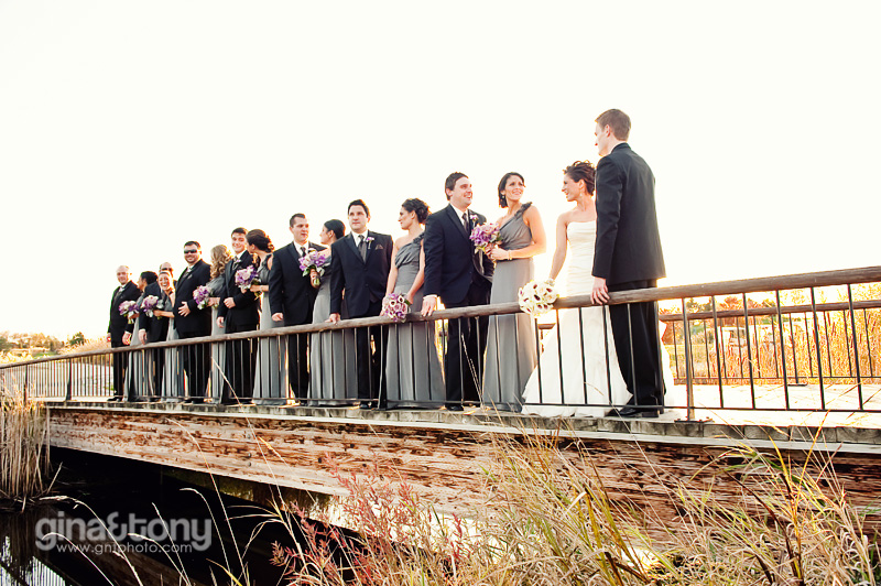 chicago wedding photographers, barrington wedding photographers, makray golf club wedding, gray and purple wedding