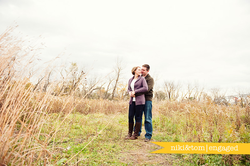chicago engagement photographers, palos heights engagement session, lake katherine engagement session