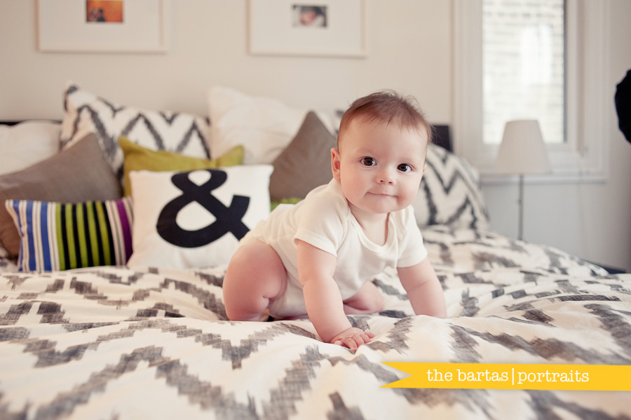 chicago family photographers, chicago baby photographers, at home baby sessions