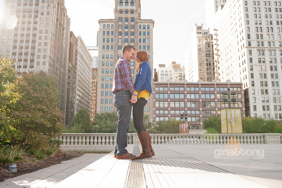 chicago engagement photographers, millennium park engagement session, dusable harbor engagement session