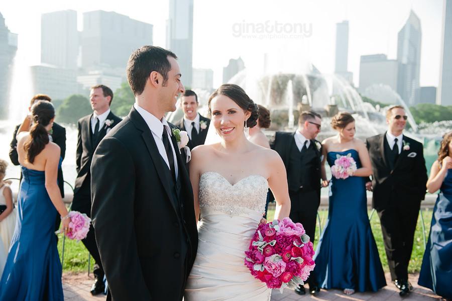 Kensington park wedding