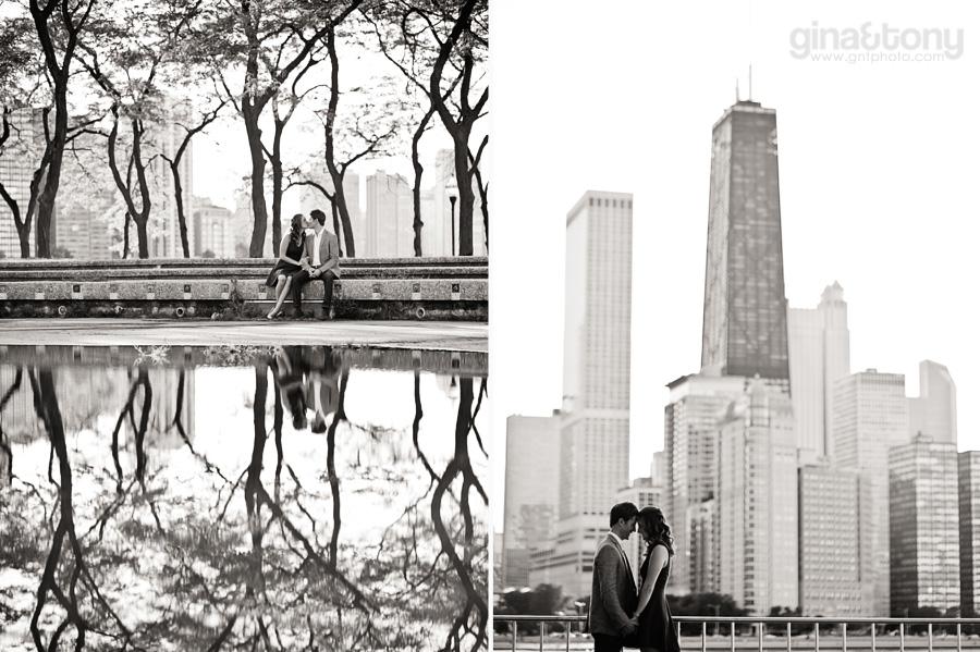 chicago engagement session, milton olive park engagement session, chicago engagement photographers