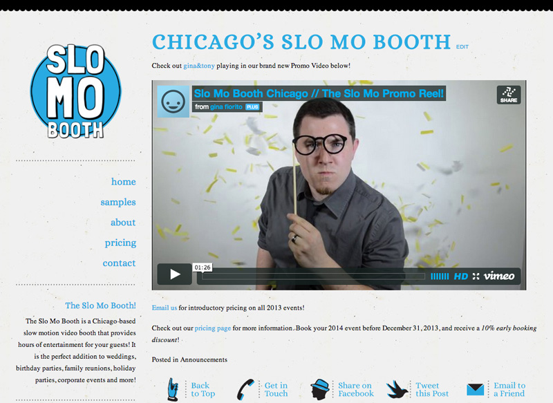 the slo mo booth! // chicago's slow motion video booth