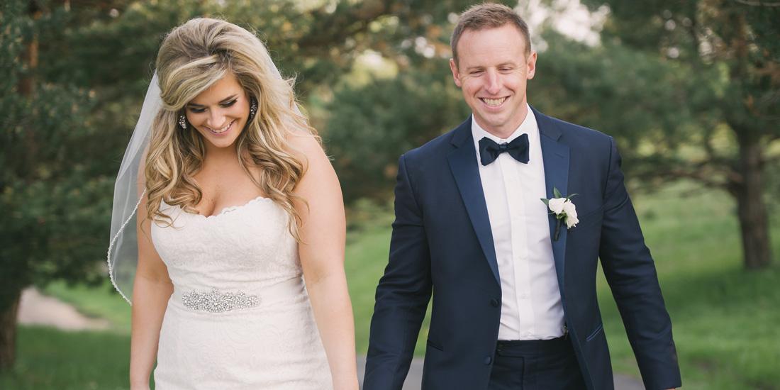 marissa + dave | married // the glen club, glenview
