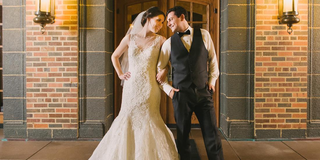 julie + tony | married // medinah country club wedding