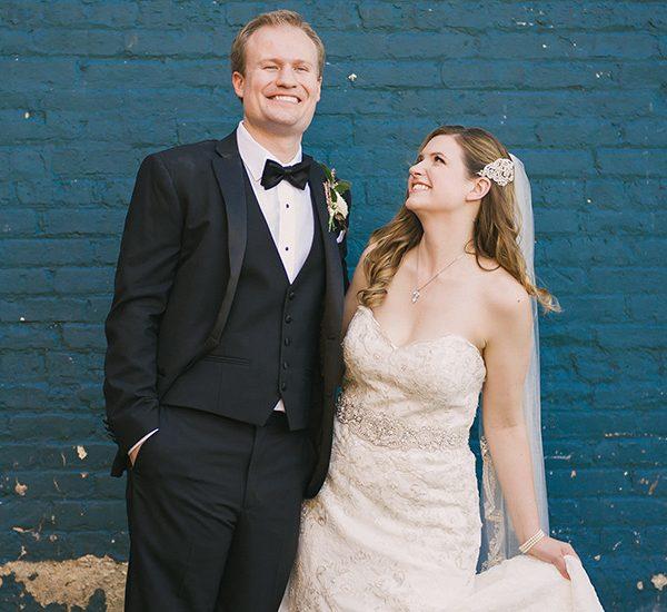 helen + derek | married // hotel baker wedding