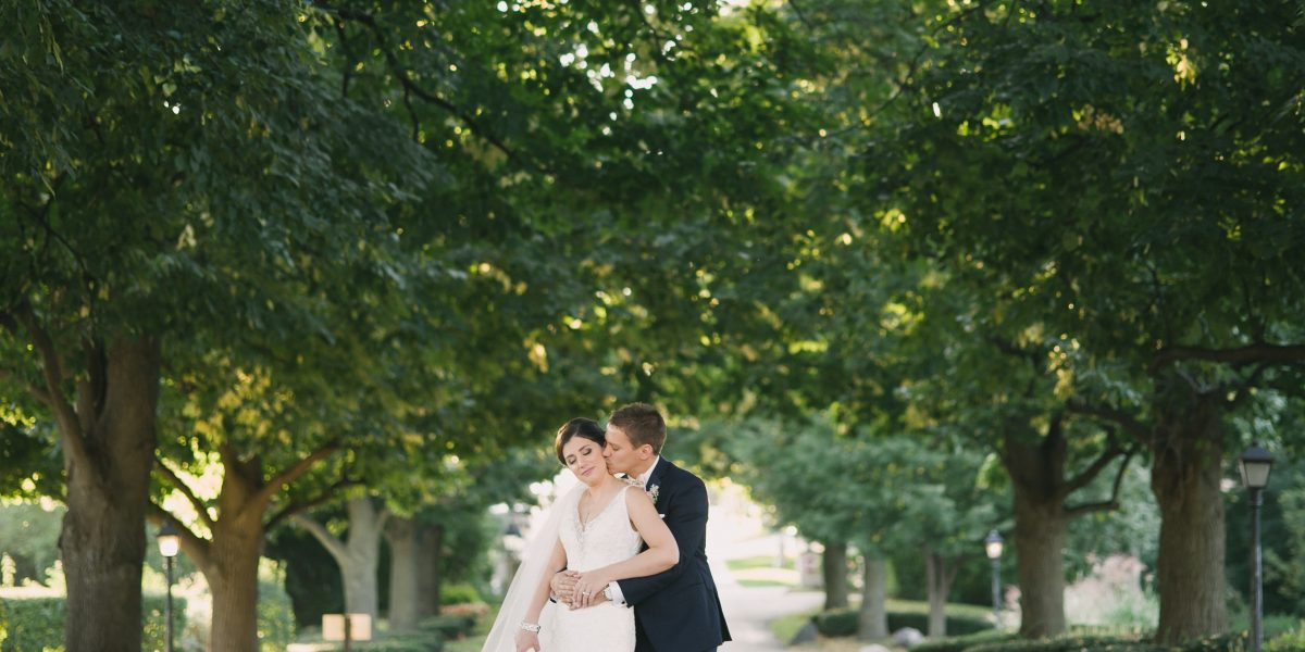 ashley + ryan | married // itasca country club wedding