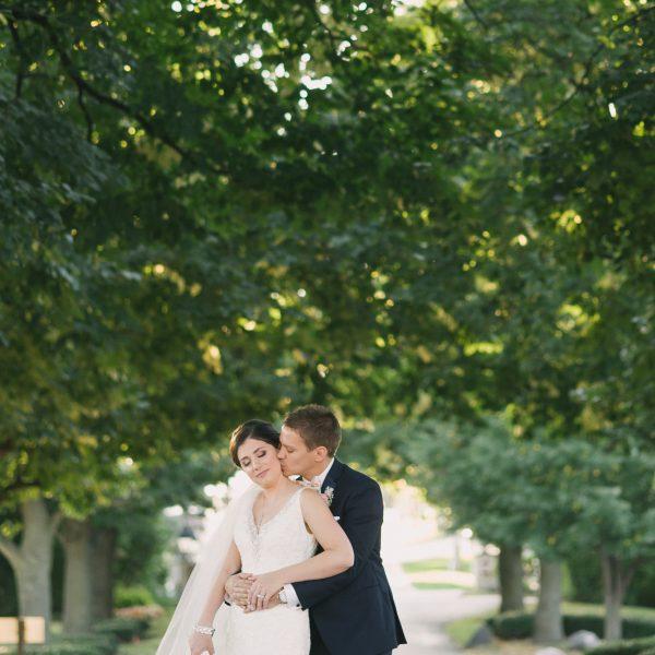 ashley + ryan | married // itasca country club wedding