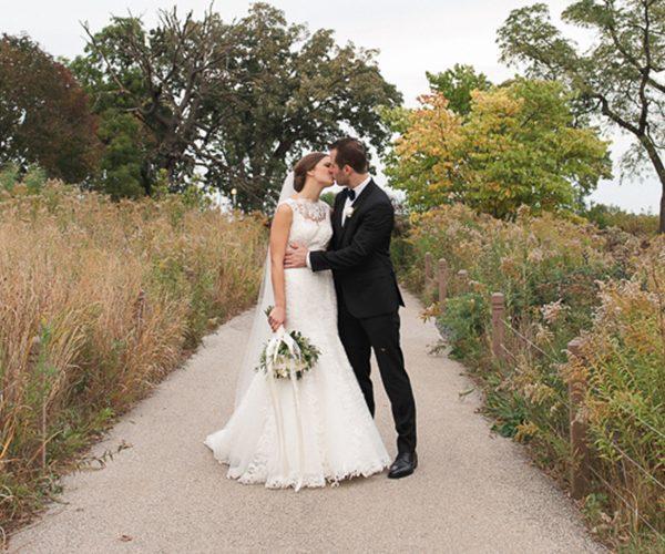 laura + nick | married // loft on lake wedding