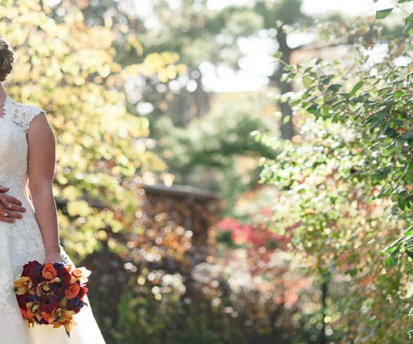 nicole + phil | married // niu naperville wedding