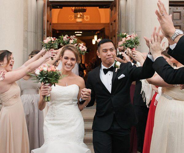 annie + mike | married // oak park wedding at the carleton hotel