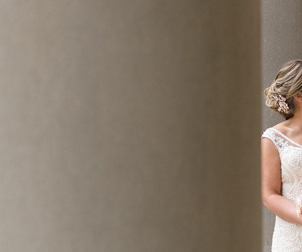 emily + matt | married // galleria marchetti wedding, chicago