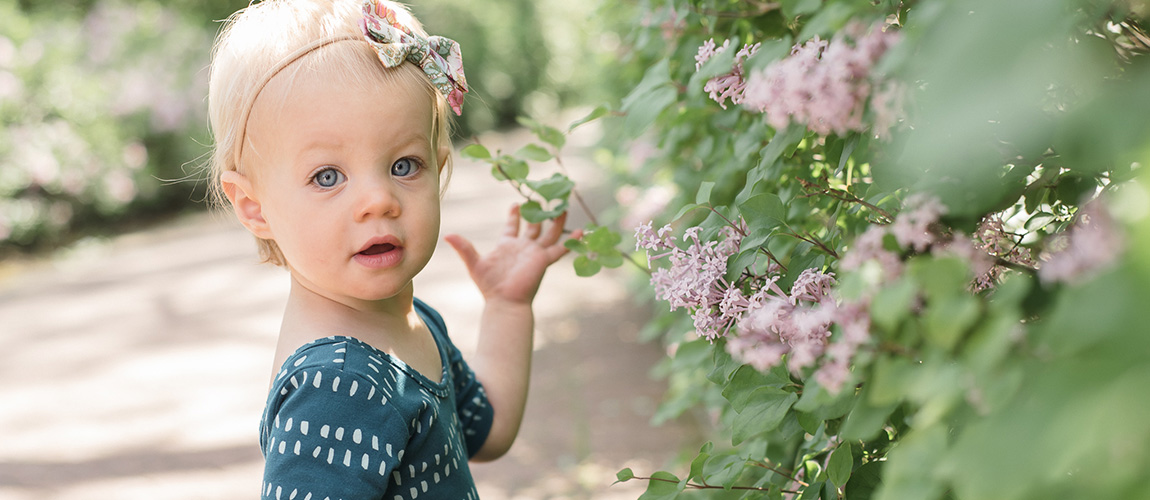 baby h | 1 year // naperville riverwalk family session