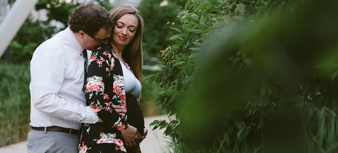 carey + david | expecting // chicago maternity session