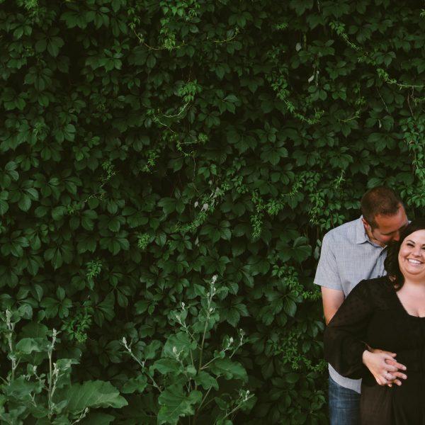 jenna + ryan | engaged // st charles engagement session